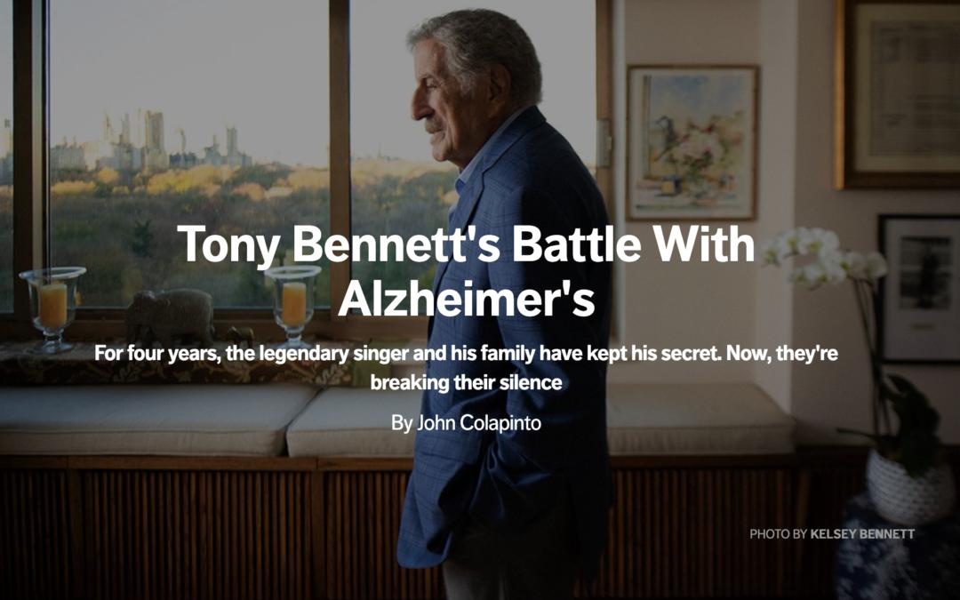 Tony Bennett's Battle With Alzheimer's