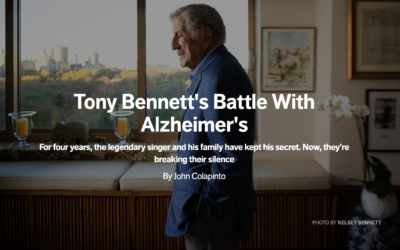 Tony Bennett's Battle With Alzheimer's
